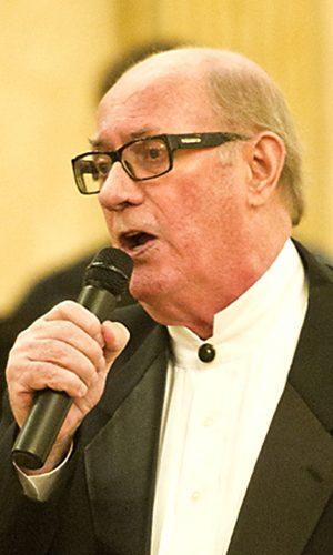 Herman at mic